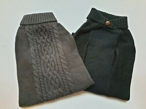 """Winter Dog Cable Knit Jumper Knitted Sweater Warm Dog Clothing Extra Large 24"""""""