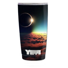 Skin Decal for Yeti 20 oz Rambler Tumbler Cup / moon planet eclipse clouds