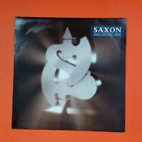 SAXON Ride Like The Wind EP 45rpm 12EM 43 LP Vinyl VG++ Cover VG++