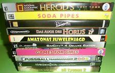 10 Stk. PC Spiele Sammlung / Konvolut (Soda Pipes, Pilgrim, Oil Tycoon 2,...)