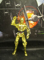 1995  Kenner Star Wars POTF 2 C-3PO Droid Loose & Complete Action Figure
