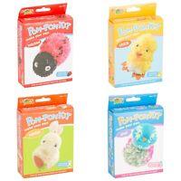 Make Your Own Pom Pom Kit Kids Childrens Creative Activity Arts Craft Gift Set