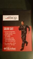 New BCG Unisex Microban Light Weight PVC Reducing Workout Solar Suit XL/XXL