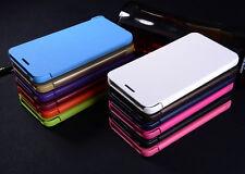 Flip PU Leder Book Case Cover Bumper Schutz Hülle Etui Schale Tasche Für Phone