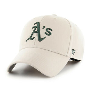 MLB Oakland Athletics A's Baseball Cap MVP Bone 193676649830 Cap