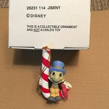 Disney Christmas Tree Xmas Ornament Jiminy  26231 114 New Boxed Rare !