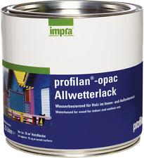 Impra Profilan Opac - Allwetterlack für Holz im Innen- und Außenbereich 2,5 L