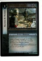 LORD OF THE RINGS LoTR 8U73 MASTERED BY MADNESS SIEGE OF GONDOR TRADING CARD