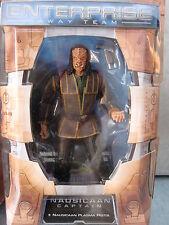 Star Trek Enterprise capitano nausicaan Art Asylum NUOVO OVP rarità