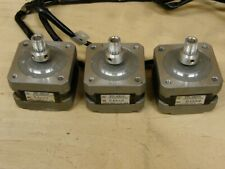 3 Shinano Kenshi Stepper Motor 18 Degree Step 34 Ohm 4 Wire Lot Of 3