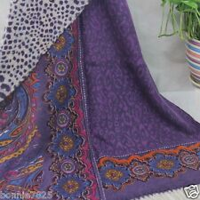 Sale New Printing Long Cashmere Wool Soft Warm Wrap Shawl Scarf Women's Man's