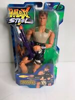 Max Steel Amazon Blaster Firing Swamp Rifle 2001 Mattel 12in. action figure doll