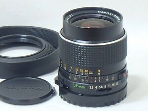 [Near MINT] Mamiya Sekor C 55mm f/2.8 Prime Lens MF for M645 1000s from Japan