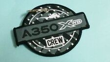 Embroidery Keychain Crew A 350 XWB Airbus Aviation Airline Aeroplane Flight
