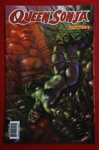 QUEEN SONJA #21 (2011) Lucio Parrillo Cover - Dynamite Red Sonja