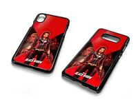 Black Widow Red Poster Marvel Avengers Phone Case Cover