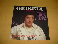 Frédéric François ‎– Giorgia 45 RPM 7'' Single