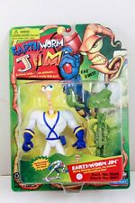 EARTHWORM JIM with Snott Playmates 1994 Green Accessories MOC