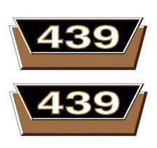 2x Mc Cormick Typenaufkleber 439 Logo Emblem Sticker Label  ca 15 x 6cm