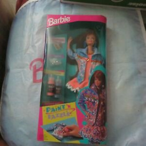 Paint 'N Dazzle Barbie - Redhead 1993 Mattel #10057 - Create outrageous fashions