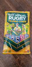 2017 TAP N PLAY OFFICIAL RUGBY UNION UNOPENED CARD PACK FROM AUSTRALIA