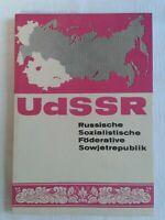 UdSSR- Russische Sozialistische Föderative Sowjetrepublik Broschürenreihe 1977