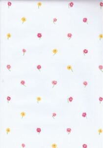 Scattered Small Print Flowers on Stems Wallpaper  HK60054