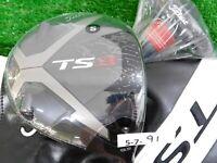 Titleist TS3 9.5* Driver Even Flow T1100 6.0 Stiff Graphite w HC, Tool & Wt New
