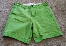 Abercrombie & Fitch Casual Shorts size 30 - green/lightly distressed