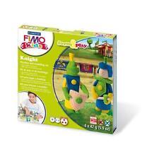 FIMO KIT FOR KIDS form & Play polimero Modellazione Forno Cuocere Argilla-Set Cavaliere
