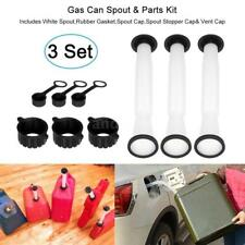 3 SETS Rubbermade Replacement Gas Can Spout and parts Kit Blitz, Rubbermaid