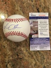 Matt Olson Autographed Romlb SS Signature Debut Ball W/Coa Oakland Athletics