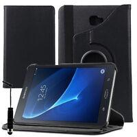 Etui Housse Rotatif 360° NOIR Rotation Samsung Galaxy Tab A 10.1 (2016) T580