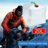 20L Water Carrier Container Foldable Collapsible With M8B6 new Bottles Tap M8H4
