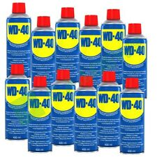 12 x WD-40 à 400 ml Multifunktionsspray Multifunktion 49004 Rostlöser Multi Öl