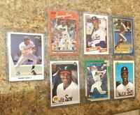 (7) Sammy Sosa 1990 Leaf Upper Topps Fleer Score Donruss Rookie card lot RC Cubs