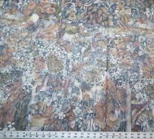 "Sheridan Range ""Montpelier"" Chintz Foliage Wildlife Water Rabbits Birds Trees"
