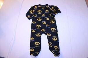 Infant/Baby Iowa Hawkeyes 18 Months Footies Pajamas PJs Genuine Stuff