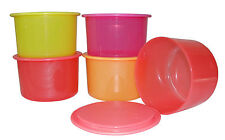 New Summer Spl Tupperware One Touch Topper (4+1 Free)-Multicolour Canister Set