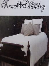 2 French Laundry Home Millstone Collection Standard Shams (1 Pair) $360 NIP