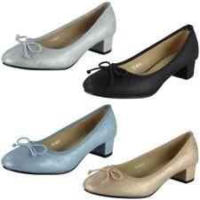 Evening & Party Court Low (3/4 to 1 1/2 in) Heel Height Heels for Women