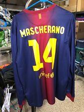 Nike 2012-2013 Mascherano L/S XL FC Barcelona Home Shirt Jersey Camiseta Kit NWT
