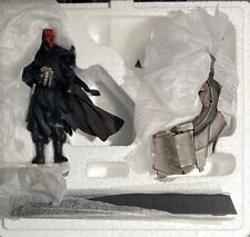 Gentle Giant - Star Wars - Darth Maul with Bloodfin statue, neuf (brand new) !