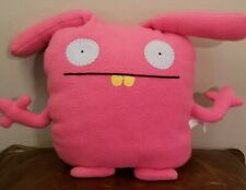 "UglyDoll 17"" Wippy Plush Large Pink Pretty Ugly Doll Stuffed Animal"