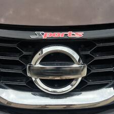 Car Trunk Door Body Plate Tailgate Metal Alloy Sports Logo Emblem Sticker Badge