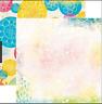BoBunny 12x12 Scrapbooking paper, Believe Collection, Joyous 2 sheets