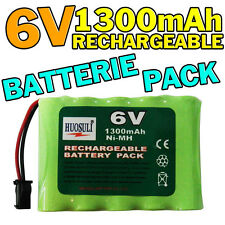 PACK BATTERIE 6V 1300MAH ACCU BATTERY RECHARGEABLE GRANDE CAPACITE
