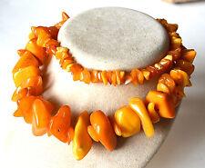 57g butterscotch Natur Bernsteinkette - Kette Bernstein - real amber beads