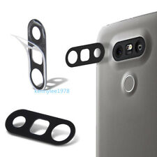 For LG G5 H830 H840 H850 Real Glass Back Rear Camera Lens Cover+Adhesive Sticker