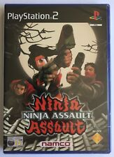 PS2 Ninja Assault (2002) UK Pal Solus, Brand New & Sony Factory Sealed